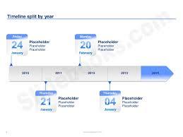 Timelines Calendars In Powerpoint