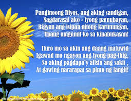 Tagalog Prayers And Christian Quotes Tagalog Prayers For Students