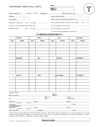 Weight Chart For Women 22 Printable Ideal Body Weight Chart For Women Forms And