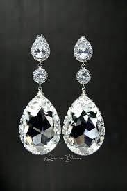 chandelier crystal earrings wedding wedding chandelier crystal earrings style cc in bloom nadri crystal chandelier earrings wedding bridal
