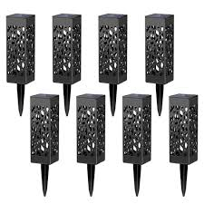 Solar Powered Automatic Lights 8 Pcs Solar Powered Led Garden Lights Automatic Led For Patio Yard And Garden