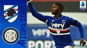 Sampdoria 2-1 Inter | Inter's winning run ended by former players Candreva  & Keita