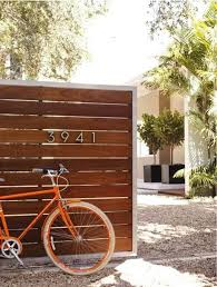 Small Picture 5 Favorites Modern Wooden Garden Gates Wooden fences House and