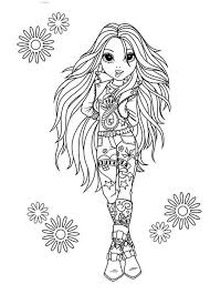 Small Picture chica the rock star the chica show coloring pages for kids