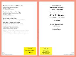 fine 6x9 book cover template photos exle resume ideas