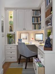 office interior inspiration. Office Cute Interior For Small Designs With L Shape Study Table Drawers Also Racks Inspiration H