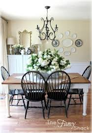 Dark Chairs White Table Legs Darker Stain On Table Top Tied In