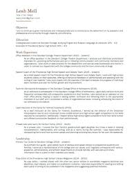 Perfect Infant Nanny Resume Pattern Documentation Template Example