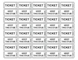 Raffle Tickets Printing Luxury Template For Raffle Tickets Print Your Own Free Printable