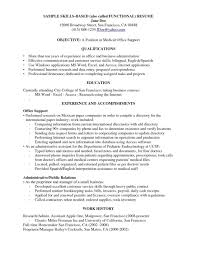 Business Resume Objective A Resume Objective Examples Resume Templates Design For