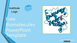 Themes For Powerpoint Presentation Free Bio Molecules Powerpoint Template Myfreeslides