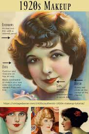 1920s makeup guide how to authentic vine 1920s makeup for day and evening flapper to great gatsby