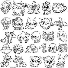 Cute Moshi Monsters Coloring Pages Best Of Moshi Monster Coloring
