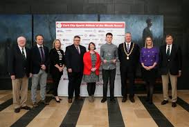 l to r tony o connell chairman ccs eoghan dinan evening echo claire myler s manager the river lee kieran mcgaery ceo cork 96fm c103 isobel keane