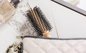 anti frizz round hair brush bristle