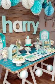 exciting baby boy christening table decoration ideas 34 for your