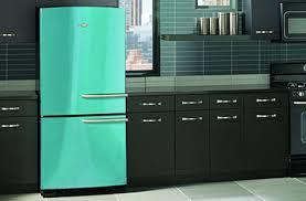 ge retro appliances. Brilliant Retro Ges Artistry Refrigerator In Cupcake Blue Ge Appliances  Retro E