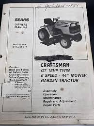 sears craftsman 917 275021 gt3000