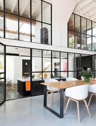 Verri Re Style Atelier Dans Un Loft R Nov Table Contemporaine