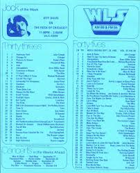 The Hideaway Wls Music Survey September 25 1982
