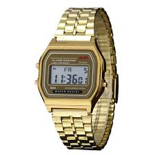 classic wristwatch reviews online shopping classic wristwatch 2016 new vintage womens men watch stainless steel digital alarm stopwatch classic silver gold wristwatch men