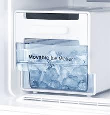 samsung refrigerator ice maker. 253 Litres Samsung 2 Door Refrigerator With Movable Ice Maker