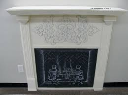 the humblenest of mrs v diy faux fireplace i have been thinking of