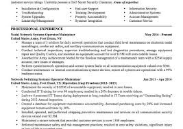 Resume Templates Military Template Simple For Microsoft Word ...