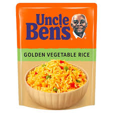 image 1 of uncle bens microwave golden vegetable rice 250g