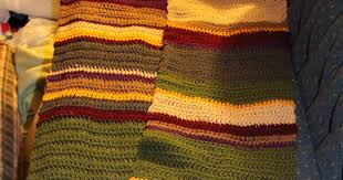 Dr Who Scarf Pattern Simple StormFly Crafts Doctor Who Fourth Doctor's Scarf Crochet Pattern