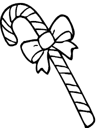 Small Picture Candy cane coloring pages with bow ColoringStar