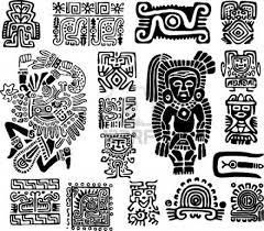 Mayan Patterns Custom Mayan Patterns Google Search Spanish Crafts Pinterest