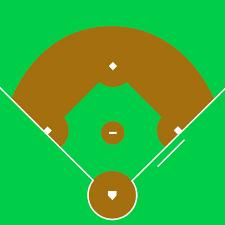 Baseball Field Diagram Fillable Baseball Diamond Baseball Field Clip Art 4 Clipartpost
