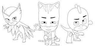 Coloring Pages Catboy Pj Masks Coloring Pages Printable Free