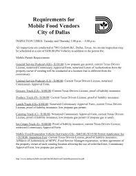 mobile food vendors city of dallas