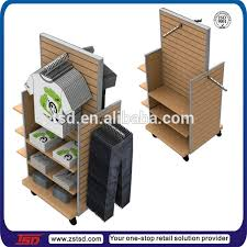 T Shirt Stand Display TSDW100 100 way clothing display rack wood display shelf clothes 34