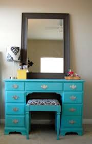 black makeup vanity with drawers. art deco blue mahogany wood makeup table with black framed mirror, lovely vanity drawers h