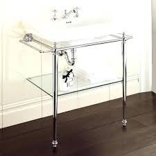 chrome legs for bathroom sink photo 3 of 6 polished console with metal american standard collection