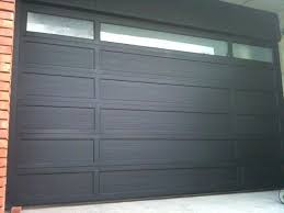 mid century garage door view in gallery black cedar wood garage doors ideas modern design for