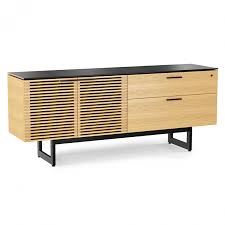 white office credenza. Bdi Corridor Oak Modern Executive Office Set Eurway Credenza Furniture White Cred