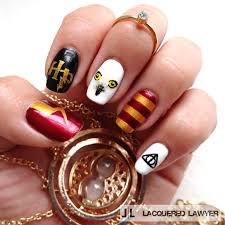 Harry Potter Nail Designs These 20 Examples Of Harry Potter Nail Art Deserve All The