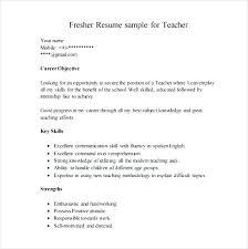 Mba Fresher Resume Sample Resume Bank