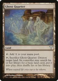 Quarter Cards Ghost Quarter Dissension