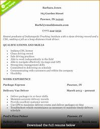 7 Truck Driver Resume Sample Besttemplates