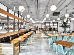 Cafeteria Lighting Design Avroko Spearheads Dropbox Hqs Cafeteria And Coffee Bar