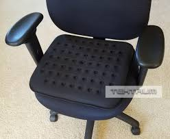 cooling office chair. Tektrum Thick Orthopedic Cool Gel Seat Cushion With Cooling Vents For Wheelchair, Office, Home Office Chair