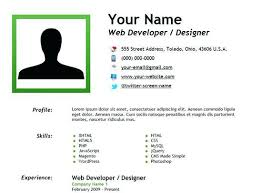 Creating A Creating Resume Outstanding Resume Template Ideas