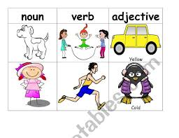 Verbs behave differently to nouns. Noun Verb Adjective Sorting Esl Worksheet By Dianaiuliana