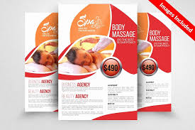 Free Flyer Template Download Elegant Free Massage Flyers Template