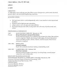 Industrial Resume Templates Industrialrician Apprentice Resume Sample Examples Custom 94